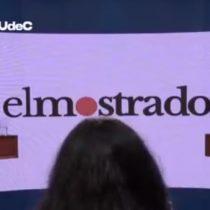 """Debate gobernadores Biobío: el independiente Rodrigo Díaz aspira a tener """"el mismo trato que Santiago"""" y la candidata UDI Flor Weisse asegura que """"mi partido político es la región"""""""