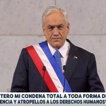 """Presidente Piñera cierra la puerta: """"Nos oponemos a una ley de indulto o amnistía (…) en Chile no hay presos políticos"""""""