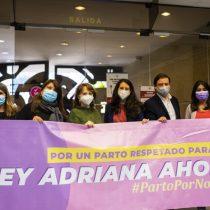 """Violencia Obstétrica: Comisión de Mujeres de la Cámara de Diputadas y Diputados pone en tabla proyecto de """"Ley Adriana"""" para el parto respetado"""