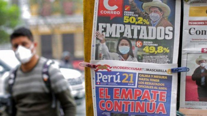 Castillo vs. Fujimori: 3 claves que explican por qué aún no se conoce al ganador de las elecciones en Perú