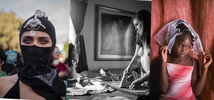 """""""Mirada de Mujer"""":  fotógrafas presentan las vivencias de las mujeres en tiempos de estallido social y crisis sanitaria a través de una exposición virtual"""