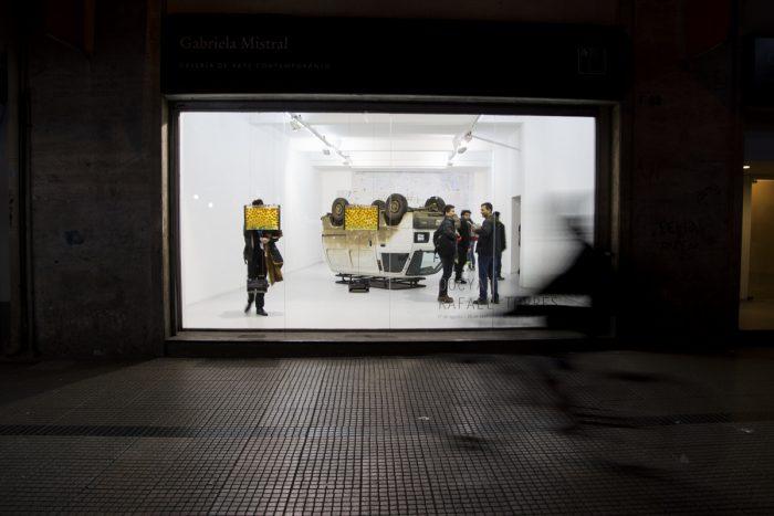 Convocatoria de galería Gabriela Mistral