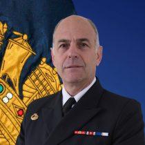 Vicealmirante Juan Andrés De La Maza asumirá como nuevo comandante en jefe de la Armada por los próximos cuatro años