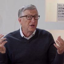 "Bill Gates en cumbre de energías limpias organizada por Chile: ""Soy optimista, creo que evitaremos un desastre climático"""