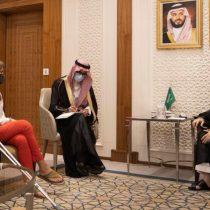 Van Rysselberghe viaja al Medio Oriente para reunirse con ministro de Relaciones Exteriores de Arabia Saudita