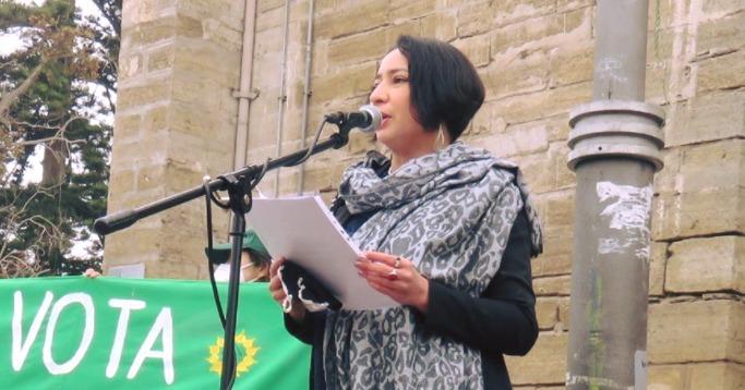 Coquimbo: ecologista Krist Naranjo gana y se convierte en nueva gobernadora regional