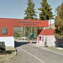 Fiscalía Militar investiga desaparición de material explosivo desde regimiento del Ejército en Colina