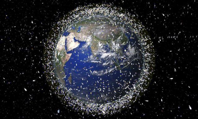 Basura espacial: el fin de la noche