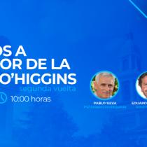 El Mostrador emitirá debate entre Pablo Silva y Eduardo Cornejo, candidatos a gobernador regional de O'Higgins