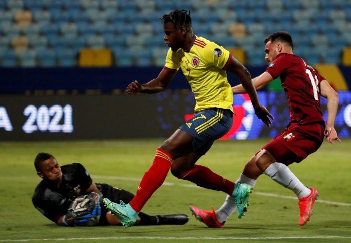 Colombia acechó pero Venezuela resistió: primer empate sin goles de la Copa América 2021