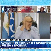 Otra más del Congreso argentino: sesión termina en pelea tras celebración de recordado gol de Maradona
