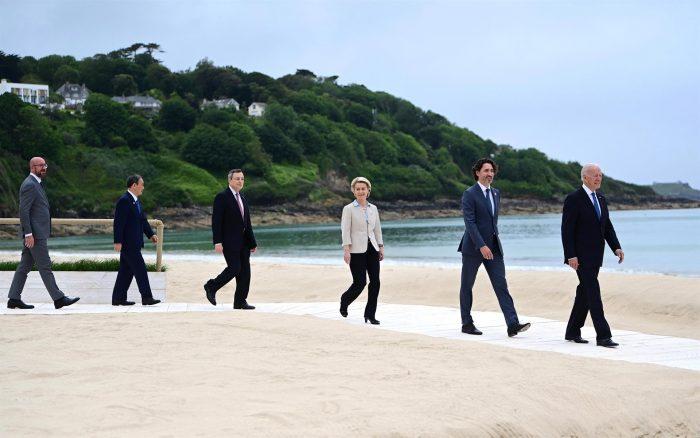 G7 carga contra la amenaza china al libre comercio y a los derechos humanos en declaración final de cumbre