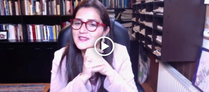 """Amaya Alvez, constituyente: """"Durante muchos años otros han hablado en nombre de las mujeres, es tiempo que hablemos nosotras"""""""