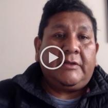 Wilfredo Bacian, constituyente quechua: