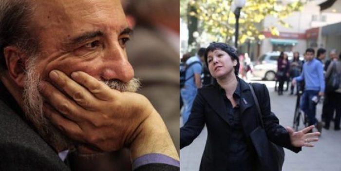 Raúl Zurita y Javiera Parada