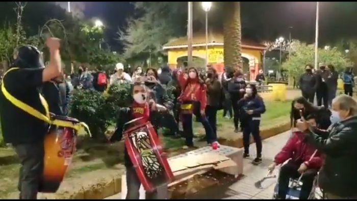 Continúan protestas por presos del estallido: manifestaciones en Plaza Italia y Plaza Ñuñoa