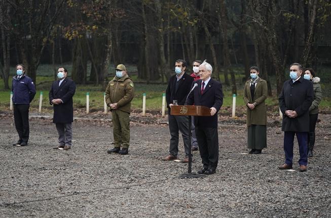 Mediante inversión de más de $20.000 millones: Presidente Piñera anuncia fortalecimiento de seguridad y medidas para el desarrollo en La Araucanía