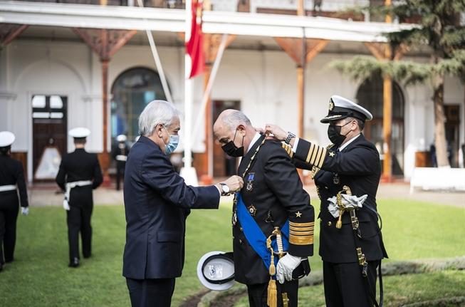 Presidente Piñera encabeza ceremonia de cambio de mando del Comandante en Jefe de la Armada