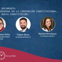 """Sigue en vivo el seminario web """"Participación ciudadana en la Convención Constitucional"""""""