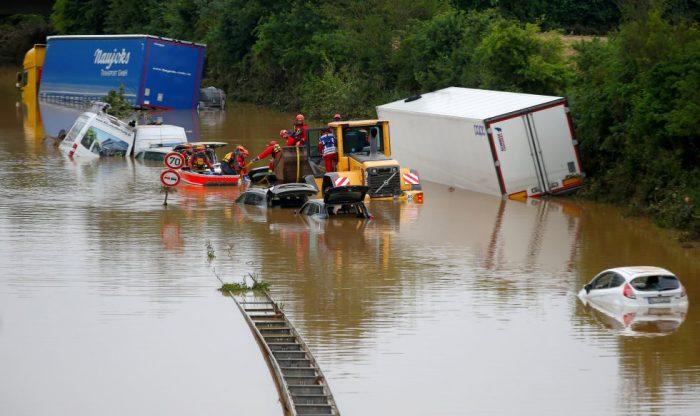 Gobierno alemán aprueba millonaria partida para afectados por inundaciones
