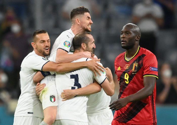 Italia triunfa sobre Bélgica y se enfrentará a España en semifinales de la Eurocopa