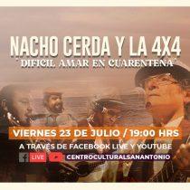 Nacho Cerda y la 4x4 en Centro Cultural San Antonio