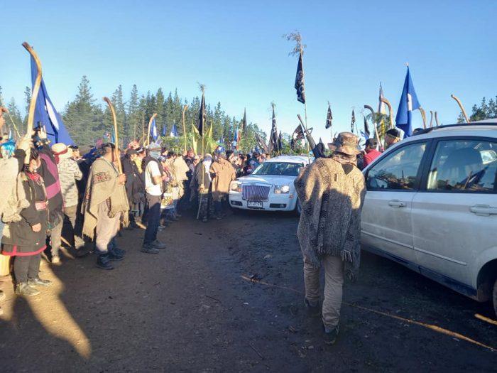 Interior condena uso de armas durante funeral de Pablo Marchant: