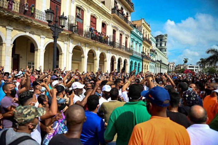Efervescencia en el Caribe, estallido social en Cuba
