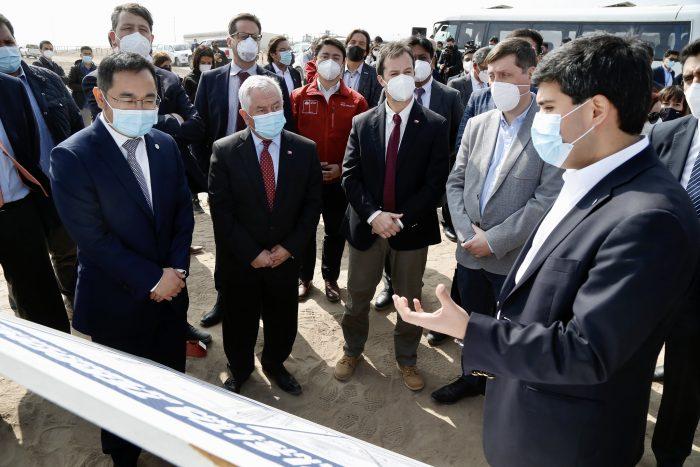 Ejecutivos de Sinovac visitaron Antofagasta: evalúan instalar fábrica de vacunas