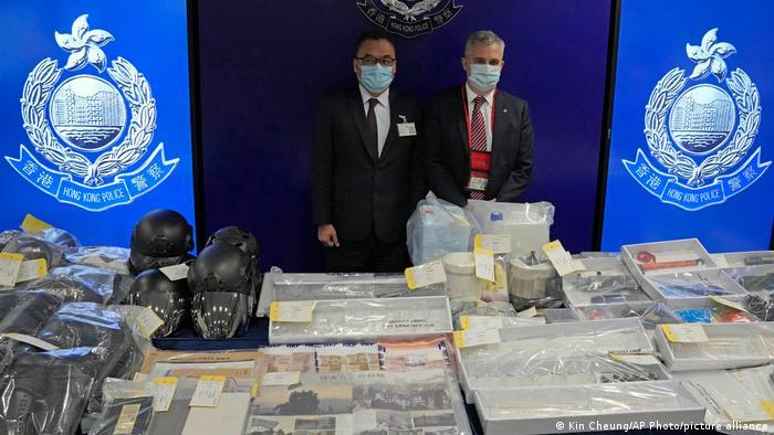 Hong Kong: 9 detenidos por