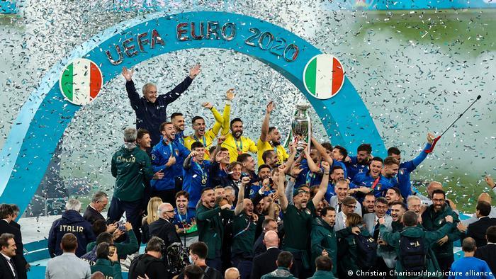Italia gana la Eurocopa en los penales frente a Inglaterra