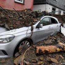 Merkel por devastadoras inundaciones: