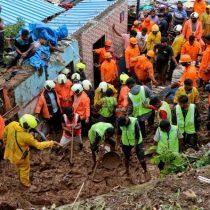 Deslizamiento de tierras en Bombay provoca decenas de muertos
