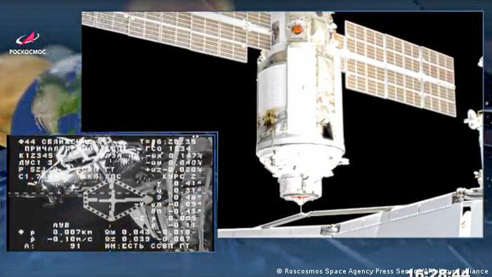 Tras 14 años de retraso, módulo ruso Nauka se acopla con éxito a la Estación Espacial Internacional