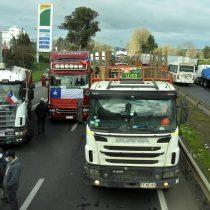 Autoridades y camioneros descartan desabastecimiento de combustible en La Araucanía tras alarmante WhatsApp que generó colapso de bencineras