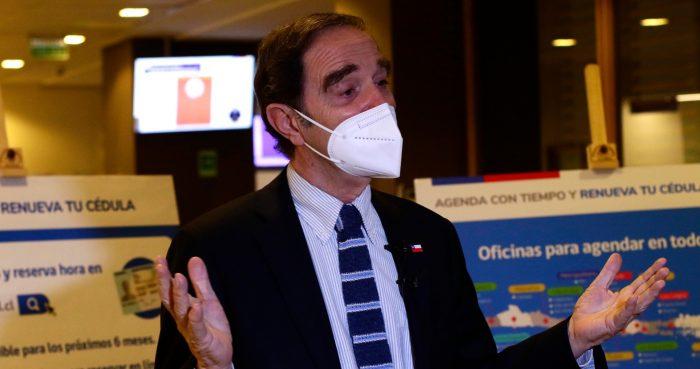 Las urgencias del ministro de Justicia Hernán Larraín