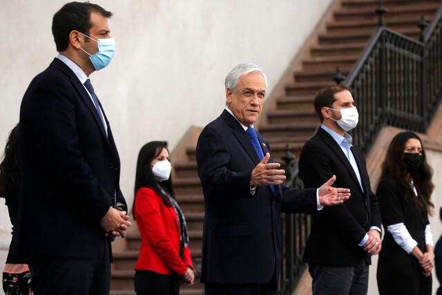 Presidente Piñera presenta proyecto de ley contra amenazas, coacción y hostigamiento