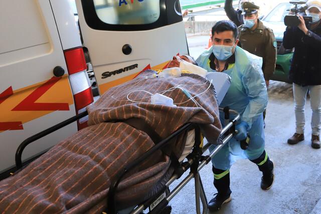 Carahue: enfrentamiento deja a dos carabineros y un trabajador heridos