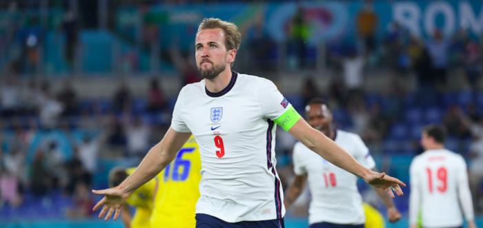 Inglaterra golea a Ucrania con doblete de Kane y chocará con Dinamarca en semifinales de la Eurocopa
