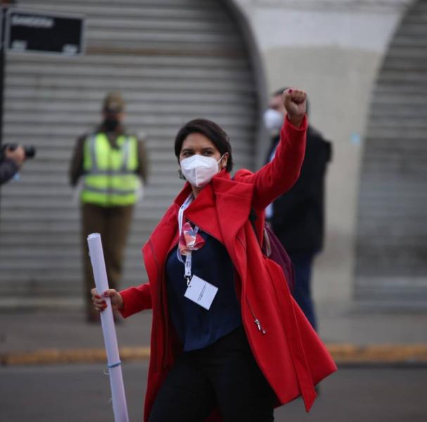 Organizaciones sociales del Norte proponen a Cristina Dorador como integrante de la Mesa Directiva de la Convención