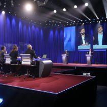 Debate presidencial de Boric y Jadue tuvo un peak de 34 puntos