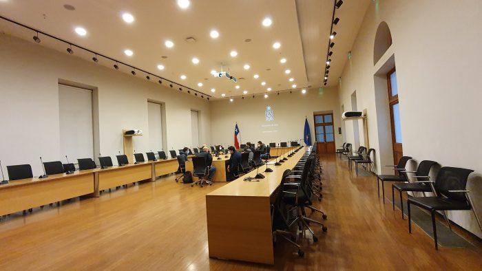 Las instalaciones de la Casa Central de la Universidad de Chile donde podría sesionar la Convención Constitucional