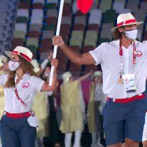 Team Chile y su delegación más numerosa de la historia participaron del tradicional desfile inaugural en los Juegos Olímpicos de Tokio