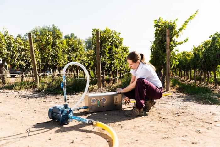 Desarrollo en nanoburbujas para combatir la escasez hídrica