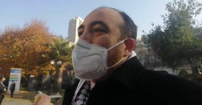 """Fuad Chahin destaca que la ceremonia sea """"en el ex Congreso, donde se firmó el acuerdo del 15-N, y con la ciudadanía expresándose en las calles"""""""