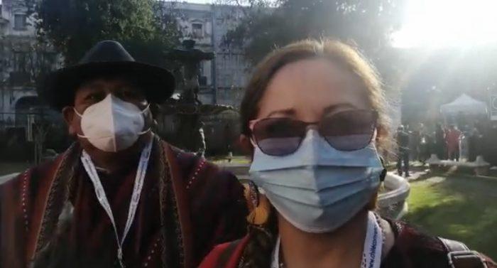 Isabel Godoy y presencia de un representante de pueblos originarios en la presidencia de la Convención: