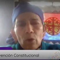 La intervención de la machi Francisca Linconao en mapudungún que demuestra la necesidad de contar con intérpretes en la Convención