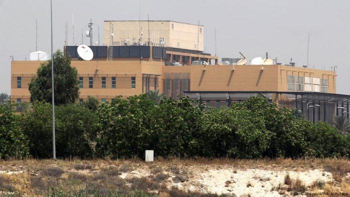 EEUU derriba dron con explosivos sobre su Embajada en Irak