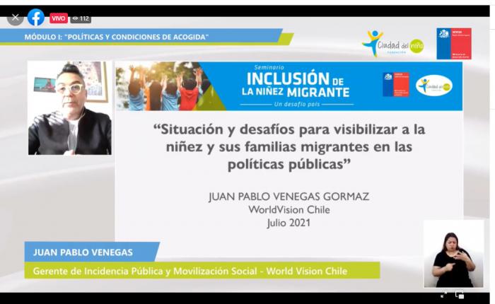 Niñez migrante: