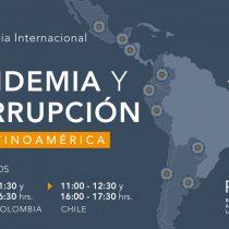 """""""Pandemia y Corrupción en Latinoamérica"""": la conferencia donde presentarán reportes sobre transparencia en el proceso de vacunación anticovid de la región"""